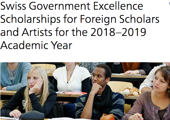 swiss-governmernment-scholarships-2018
