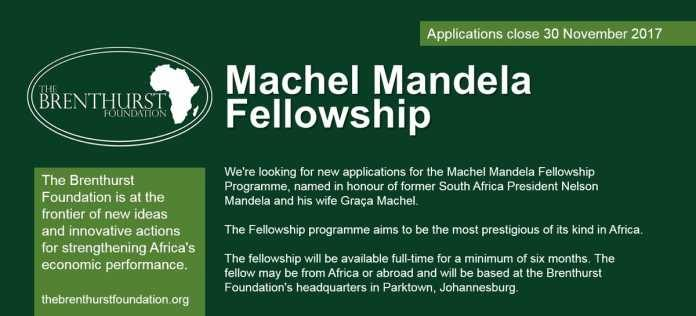 Brenthurst-Foundation-Machel-Mandela-Fellowship-Programme-2018-Funded
