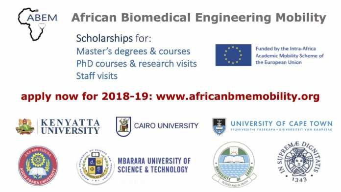 african-biomedical-engineering-mobility-scholarships-2018