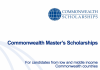 commonwealth-masters-scholarships-2018