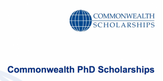 Application Deadline: February 22nd 2018 Applications for the Commonwealth PhD Scholarships 2018/2019 for study in the United Kingdom are now being accepted The Commonwealth Scholarship and Fellowship Plan (CSFP) is one of the largest and most prestigious international scholarship schemes in the world. Since it was established in 1959, 35,000 individuals have held a Commonwealth Scholarship or Fellowship – 27,000 of them were funded by the UK government, through the Commonwealth Scholarship Commission in the United Kingdom (CSC). Commonwealth PhD Scholarships are for candidates from low and middle income Commonwealth countries, for full-time doctoral study at a UK university. Funded by the UK Department for International Development (DFID), Commonwealth PhD Scholarships enable talented and motivated individuals to gain the knowledge and skills required for sustainable development, and are aimed at those who could not otherwise afford to study in the UK. Purpose: To enhance individual teaching and research capacity leading to increased institutional capacity in academic and other sectors in Commonwealth countries, and to contribute to UK higher education and research by attracting high-calibre international candidates and encouraging links and collaboration. Intended beneficiaries: High-quality graduates who have the potential to become influential leaders, teachers, or researchers in their home countries, and whose proposed research topic has been described to the satisfaction of the selection committee as having a developmental and leadership focus ELIGIBILITY To apply for these scholarships, you must: Be a citizen of or have been granted refugee status by an eligible Commonwealth country, or be a British Protected Person Be permanently resident in an eligible Commonwealth country Be available to start your academic studies in the UK by the start of the UK academic year in September/October 2018 By October 2018, hold a first degree of at least upper second class (2
