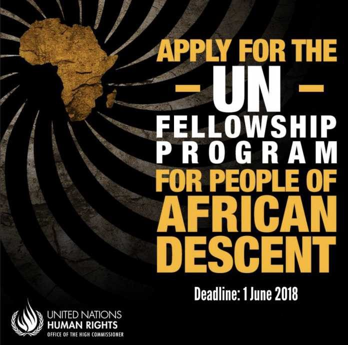 2018-un-fellowship-program-for-people-of-african-descent-
