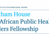 chatham-house-african-public-health-leaders-fellowship-2018-chatham-house-african-public-health-leaders-fellowship-2018