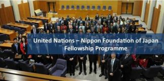 united-nations-nippon-foundation-of-japan-fellowship-programme-2019