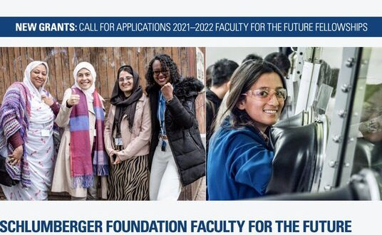 Schlumberger-Foundation-Faculty-for-the-Future-Fellowships-2021-2022