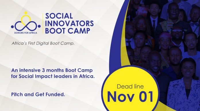 Donors-For-Africa-Social-Innovators-Bootcamp-2020