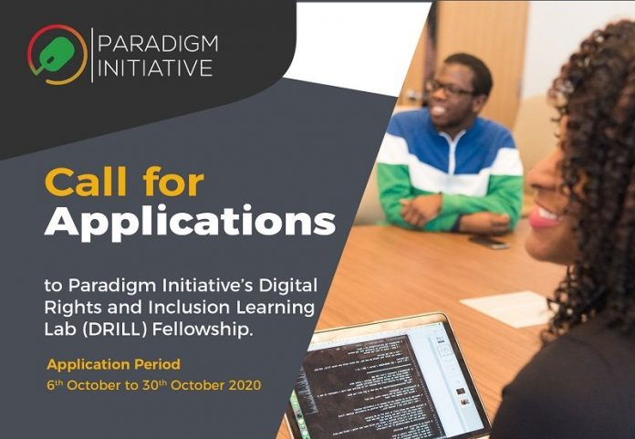 Paradigm-Initiative's-Digital-Rights-and-Inclusion-Learning-Lab-DRILL-Fellowship-2021