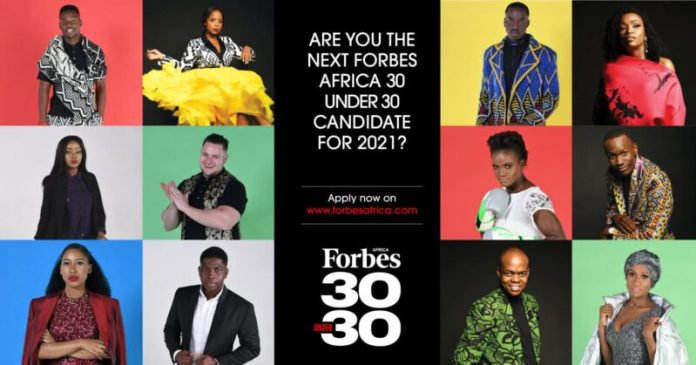 FORBES-AFRICA's-30-Under-30-Class-Of-2021